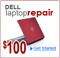 Dell Laptop Repair for $100