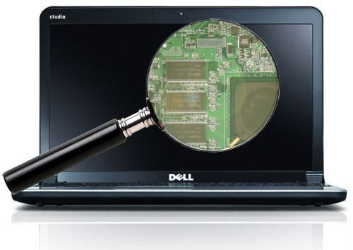 scan your laptop for dell service tag